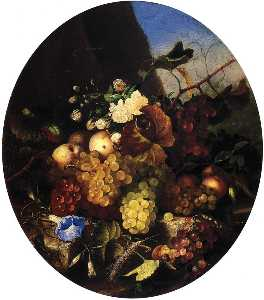 Adelheid Dietrich - Still Life of Fruit and F..