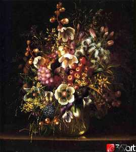 Adelheid Dietrich - Still Life with Flowers i..
