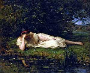 Berthe Morisot - Study, The Water's Edge