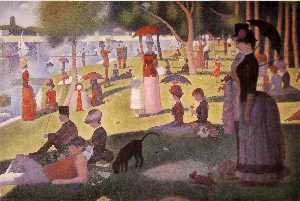 Georges Pierre Seurat - A Sunday Afternoon on the..