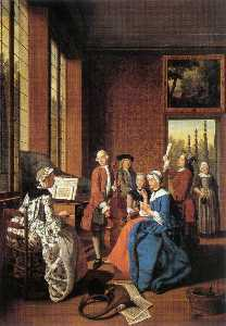 Jan Josef Horemans The El.. - Concert In An Interior