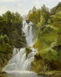Francois Diday - Waterfall