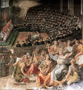 Pasquale Cati Da Iesi - The Council Of Trent