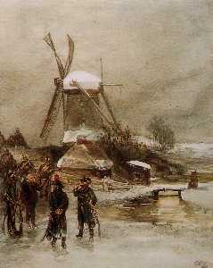 Charles Rochussen - French Troops At Dutch Mi..