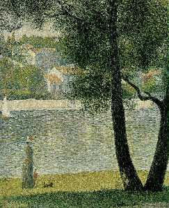 Georges Pierre Seurat - The Seine at Courbevoie