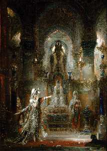 Gustave Moreau - Salome Dancing before Her..