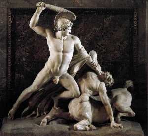 Antonio Canova - Theseus and the Centaur