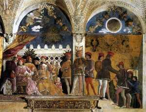 Andrea Mantegna - DucalPalace - The Court o..