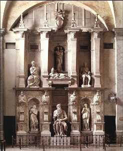 Michelangelo Buonarroti - Pope Julius II - Tomb of ..