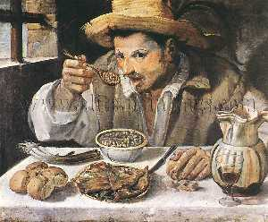 Annibale Carracci - The Beaneater