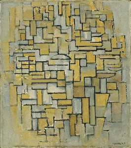Piet Mondrian - Composition in Brown and ..
