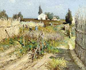 Marcel Dyf - Kitchen Garden in Provenc..