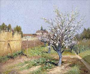 Marcel Dyf - Orchard in Bloom
