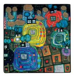 Friedensreich Hundertwass.. - Pavilions and Bungalows f..