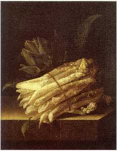After Adriaen Coorte - English Still Life of Asp..