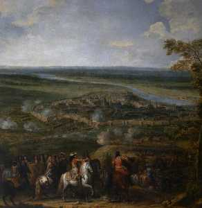 Adam Frans Van Der Meulen - The Siege of Maastricht, ..