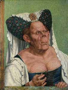 Quentin Massys - A Grotesque Old Woman (al..