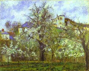 Camille Pissarro - Vegetable Garden and Tree..