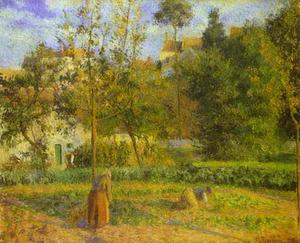 Camille Pissarro - Vegetable Garden at the H..