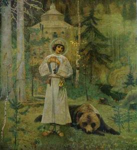 Mikhail Nesterov - Youth of Saint Sergiy Rad..