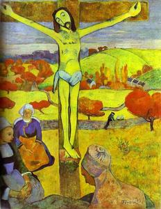 Paul Gauguin - el amarillo cristo
