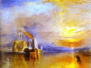 William Turner - The Fighting Temeraire Tugged ..