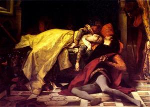 Alexandre Cabanel - The Death of Francesca da..