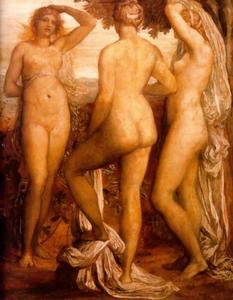 George Frederic Watts - The Three Graces