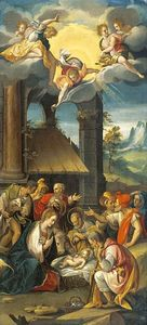 Prospero Fontana - The Adoration of the Shep..