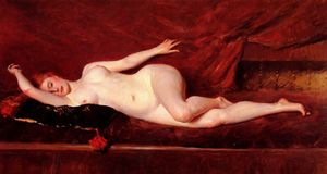 William Merritt Chase - A Study in Curves