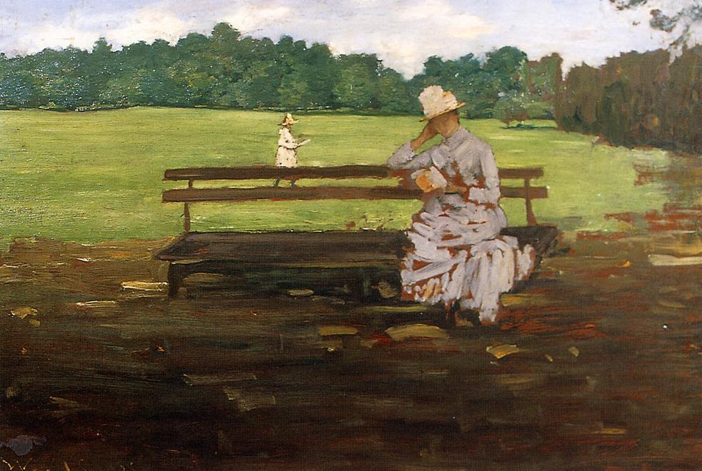 Prospect Park, Brooklyn, 1889 by William Merritt Chase (1849-1916, United States) | Museum Quality Reproductions | ArtsDot.com