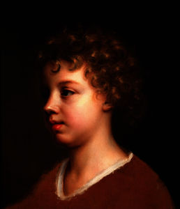Mary Beale - Portrait of a Young Child