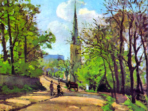 Camille Pissarro - St. Stephen's Church, Low..