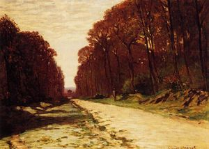 Claude Monet - Road in a Forest
