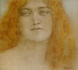 Fernand Edmond Jean Marie.. - Study of a woman 1