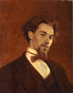 Ivan Nikolaevich Kramskoy - Portrait of the Artist Ko..