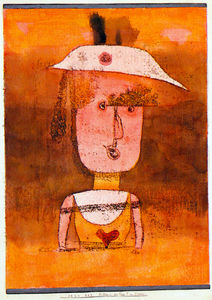 Paul Klee - Portrait of Mrs. P. in South