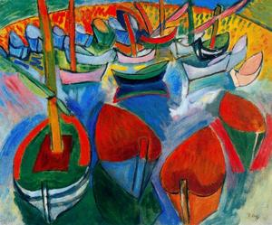 Raoul Dufy - Boats at Martigues