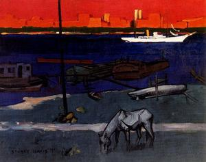 Stuart Davis - A River View