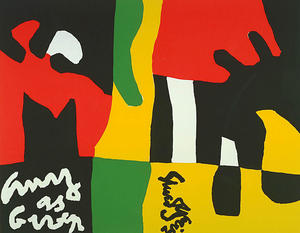 Stuart Davis - Composition, from the por..