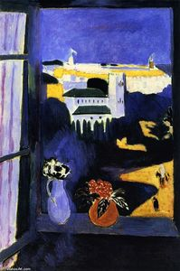 Henri Matisse - Landscape viewed from a W..
