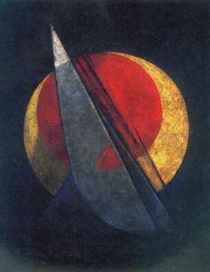 Alexander Rodchenko - Composition (Winning Red)