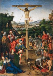 Andrea Solario - The Crucifixion