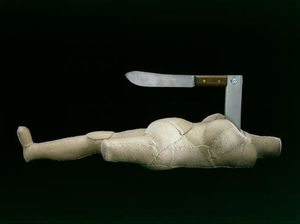 Louise Joséphine Bourgeoi.. - Woman-Knife