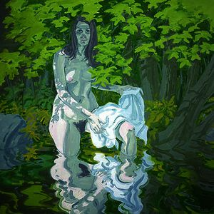 Neil Gavin Welliver - Figure with Shirt