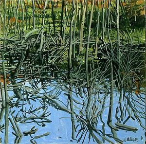 Neil Gavin Welliver - Study for Low Water - Kni..