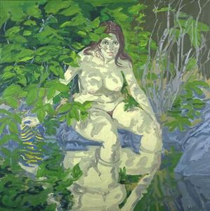 Neil Gavin Welliver - Seated Figure (Claudia)