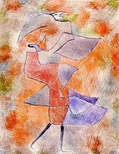 Paul Klee - Diana in the Autumn Wind