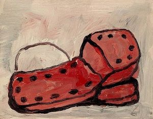 Philip Guston - Shoes