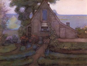 Piet Mondrian - Triangulated Farmhouse Fa..